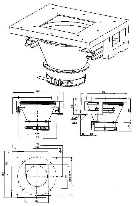 Váha pro plnění pytlů (základní provedení)
